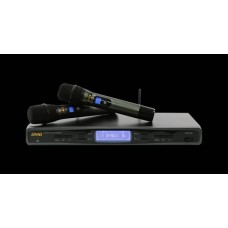 BMB WB5000 WIRELESS DUAL MIC SYSTEM WITH WM500 MIC