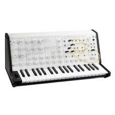 Korg MS20 mini analogue synth in white and black ltd